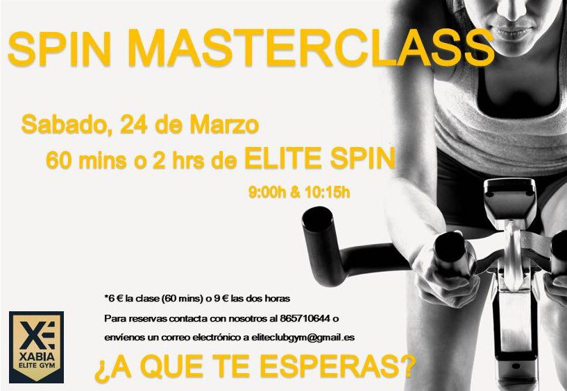 Recent Event: SPIN MASTERCLASS